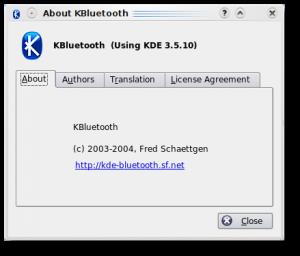 KBluetooth