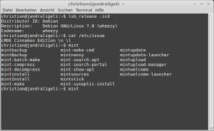 Von außen sieht man dem System nicht an, das unter der Haube ein Debian werkelt.