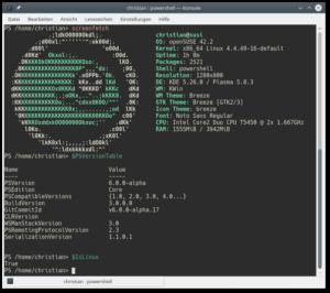 PowerShell und openSUSE