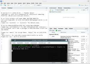 RStudio in openSUSE